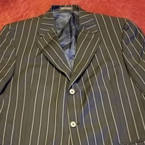 Other - Men's Navy Blue Pin-Stripped Suite